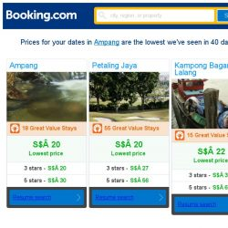 [Booking.com] Prices in Ampang dropped again – act now and save more!