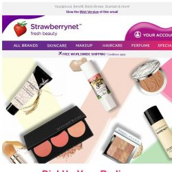 [StrawberryNet] Glowing Makeup Sale Up to 30% Off