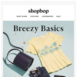 [Shopbop] Set your weekend up for success