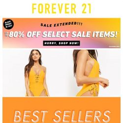 [FOREVER 21] ONLY THE BEST.
