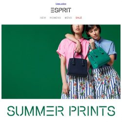 [Esprit] What prints to wear this season