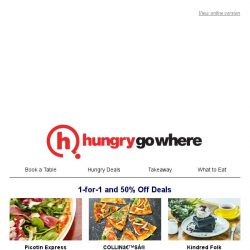 [HungryGoWhere] Exclusively for Singtel Customers: 1-for-1, 50% off, Set Meal Specials, and more dining deals.