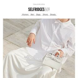 [Selfridges & Co] Declutter your wardrobe (and mind) for the season ahead
