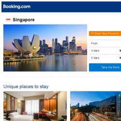 [Booking.com] Deals in Singapore from S$ 60