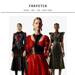 [Farfetch] Alexander McQueen: your event-dressing dramas solved