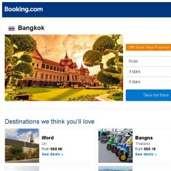 [Booking.com] Deals in Bangkok from S$ 11