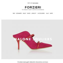 [Forzieri] New Arrivals from Malone Souliers, Marni and Olympia Le Tan
