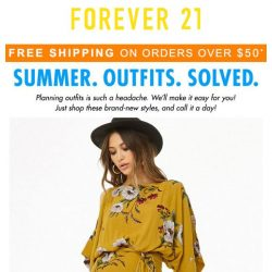 [FOREVER 21] Summer. Outfits. Solved. ✔️