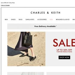 [Charles & Keith] CHARLES & KEITH | End-of-Season Sale – Last Week