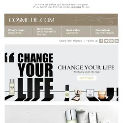 [COSME-DE.com] Change Your Life With Beauty Quotes Like Magic! SEE DETAILS>💄💋