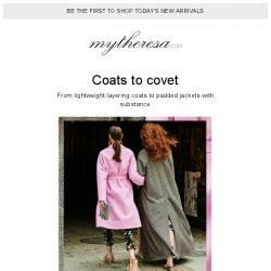[mytheresa] First impressions: fall's favorite coats