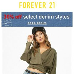 [FOREVER 21] ONLINE ONLY