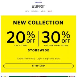 [Esprit] Shop new bags & accessories with our offer!