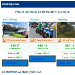 [Booking.com] Prices in Lat Krabang are dropping for your dates!