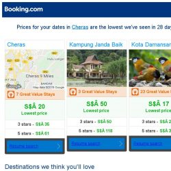 [Booking.com] Prices in Cheras dropped again – act now and save more!