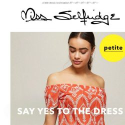 [Miss Selfridge] Your day sesh dresses have arrived ☀️🍹🍳🙌