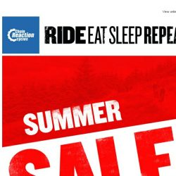 [Chain Reaction Cycles] Summer Sale Week 2: Shop to Drop!