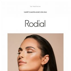 [RODIAL] Your Summer Skin Saviours ☀️