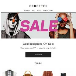 [Farfetch] Don't miss Chloé, Givenchy and Stella McCartney in the Sale