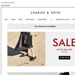 [Charles & Keith] CHARLES & KEITH | End-of-Season Sale – Last  day