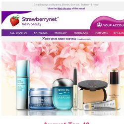 [StrawberryNet] Amazing August Top 40 Up to 70% Off!