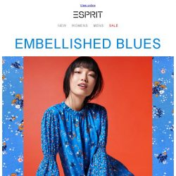 [Esprit] All Blue Everything - the must-have color for Summer