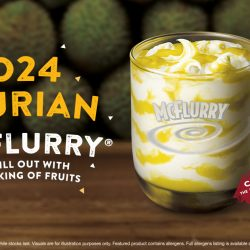 McDonald's: NEW D24 Durian McFlurry® Now Available for a Limited Time Only!