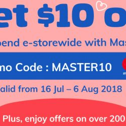 NTUC FairPrice: Get $10 OFF with MasterCard when You Shop Online!