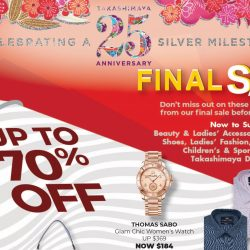 Takashimaya: Final Sale with Up to 70% OFF Beauty, Fashion, Sports, Food, Home & More!