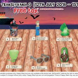 McDonald's: FREE Hotel Transylvania 3 Toy with Every Happy Meal Purchased
