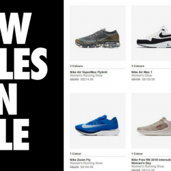 Nike: Online Sale with Up to 20% OFF Sports Shoes & Apparel