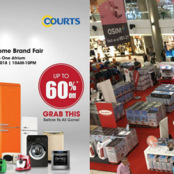 EuropAce: Style Your Home Brand Fair with Up to 60% OFF Home Appliances at Compass One Atrium