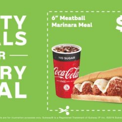 Subway: Flash These Coupons to Save on Your Breakfast, Meals, Salads & Soups!