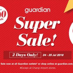 Guardian: Super Sale with Up to 80% OFF over 800 Deals & Buy 1 Get 1 FREE Offers In Stores & Online!