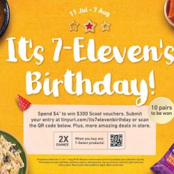 7-Eleven: Birthday Deals + FREE Lava Cake for Fellow July Babies!