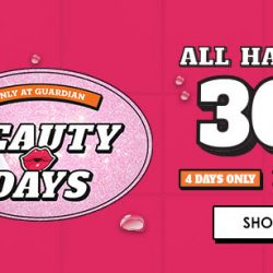 Guardian: 30% OFF All Haircare In Stores & Online for 4 Days Only!