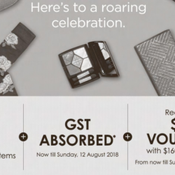Robinsons: National Day Sale with Up to 50% OFF Regular-Priced Items + GST Absorbed!