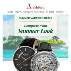 [Ashford] For that perfect summer look
