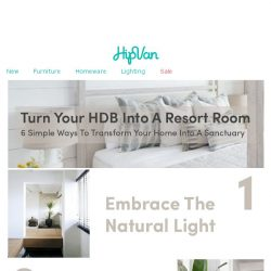 [HipVan] 6 Simple Ways To Turn Your Home Into A Resort Room🌴