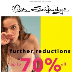 [Miss Selfridge] FINAL CALL FOR FURTHER REDUCTIONS 🚨
