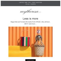 [mytheresa] Bags that don't break the bank + free shipping