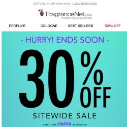 [FragranceNet] Your COUPON is expiring!