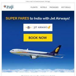 [Zuji] BQ.sg: Jet off to Bollywood with our Super Fares