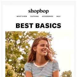 [Shopbop] The pieces that will carry your wardrobe