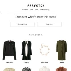 [Farfetch] New In | Over 1,000 new pieces added daily