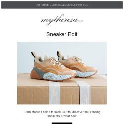 [mytheresa] 👟Shoe Club exclusive: statement sneakers