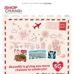 [iShopChangi] Fall in 💓 with our #LoveSG Sale