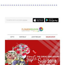 [Floweradvisor] 4 Days Left Before This GSS Exclusive Discount Expires!