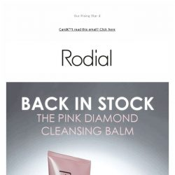[RODIAL] Our New Best-Seller is Back In Stock