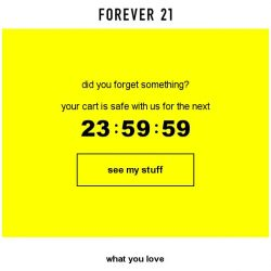 [FOREVER 21] Get it before it's gone